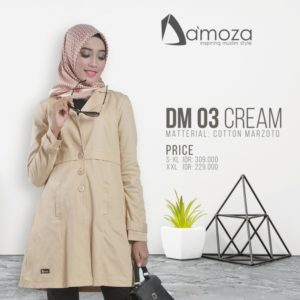 Tunik Da'moza 03 Cream